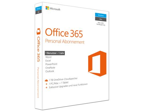 Microsoft Office 365 Personal Box, DE - Bild 1